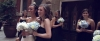 thumbs bridesmaids Megan and Cameron // Wedding Highlight Film // First Baptist Church, Dallas Texas